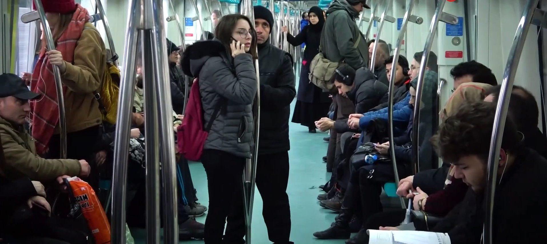 Gebze Halkalı Banliyö Tren hattına halkın yoğun ilgisi