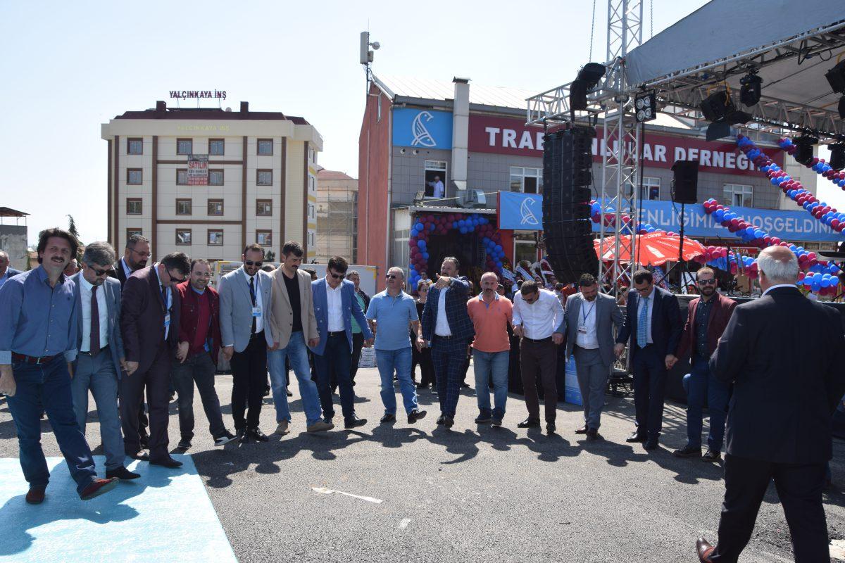 Pendik Trabzonlular Derneği muhteşem törenle açıldı