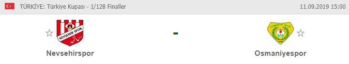 Nevşehirspor Osmaniyespor maçı hangi kanalda | Nevşehirspor Osmaniyespor maçı canlı izleme linki