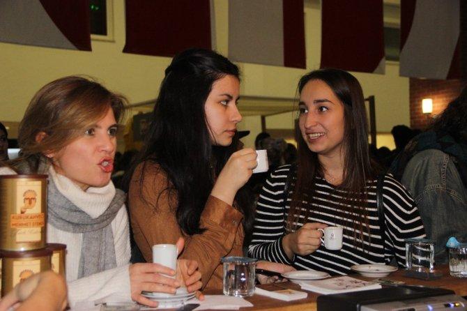 Kahvenin kokusu Eskişehir'in dinamizmi ile buluştu