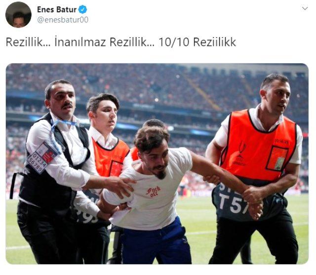 Enes Batur, Ali Abdüsselam Yılmaz'ı yerden yere vurdu