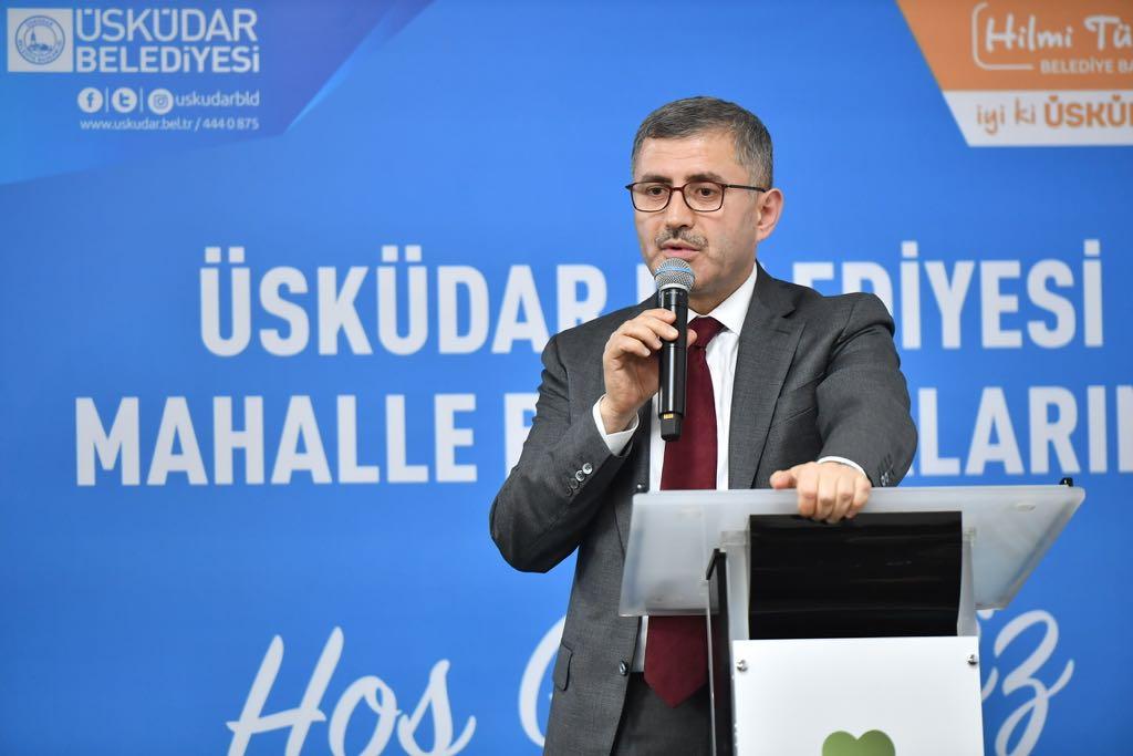 Hilmi Türkmen Haberleri - Üsküdar Belediye Başkanı Hilmi Türkmen son dakika haberleri