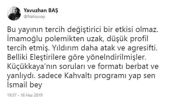 Tarihi yayının moderatörü İsmail Küçükkaya'ya büyük tepki!