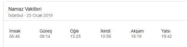 İzmir'de Cuma namazı kaçta? Cuma ezanı kaçta okunuyor? (25 Ocak 2019)