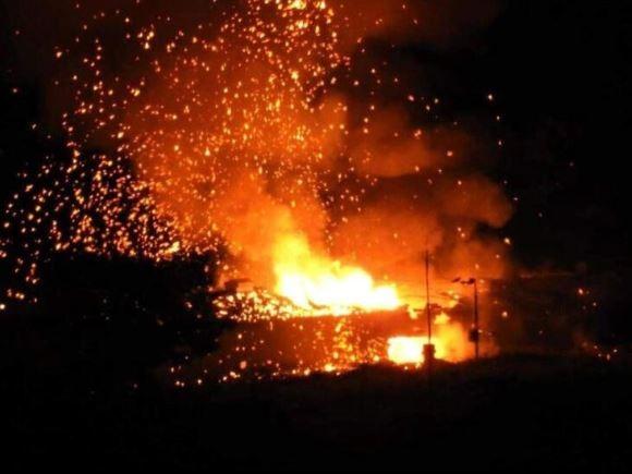 KKTC'de art arda korkutan patlamalar! Girişler kapatıldı