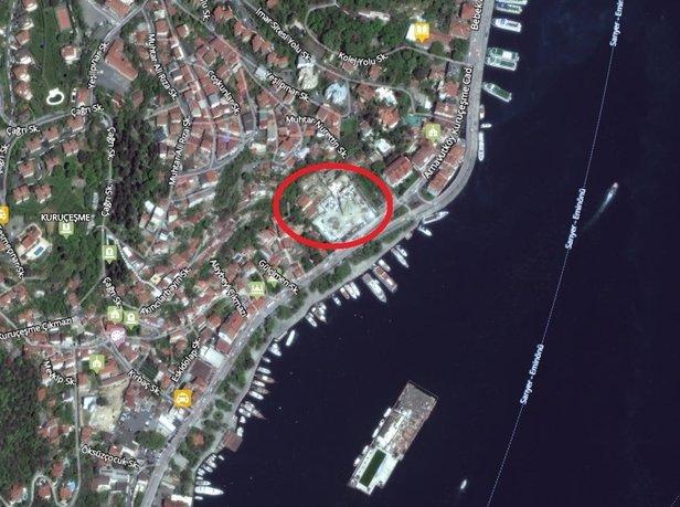 Koç Holding kurulu da belediyeyi de dinlemedi! Ağaçları katledip otel yaptılar...