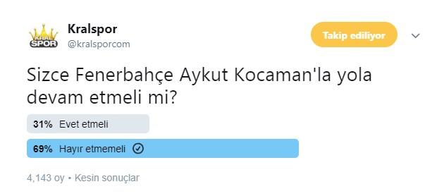 Ali Koç: Tercihim Aykut Kocaman
