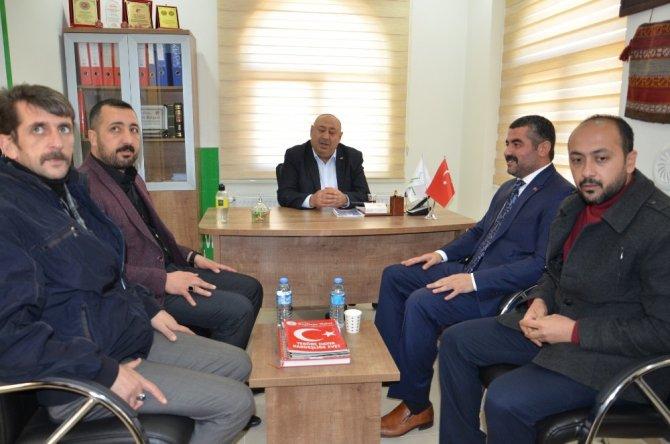Avşar'dan Yeşiltepe Yardımlaşma Derneğine destek sözü
