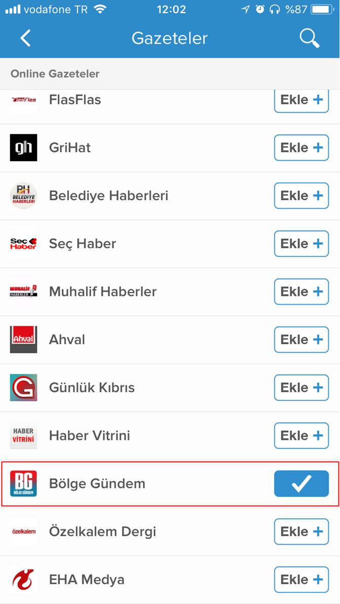 Bölge Gündem Nabız App uygulamasında!