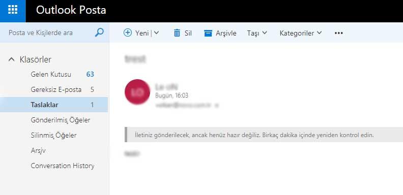 Outlook ve Hotmail çöktü! neden Mail gönderilemiyor