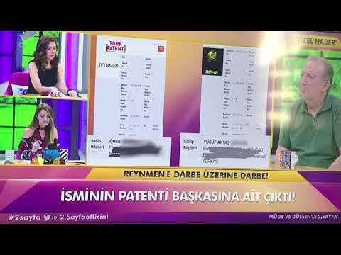 Reynmen isminin patenti alındı