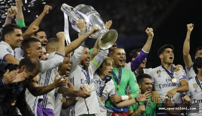 2017 - 2018 Şampiyonlar Ligi'nde şampiyon Real Madrid oldu