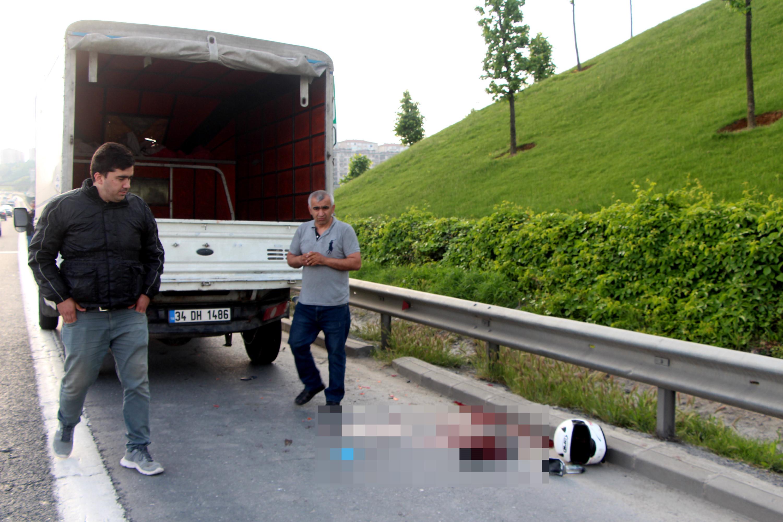 TEM Otoyolu'nda korkunç bir kaza meydana geldi