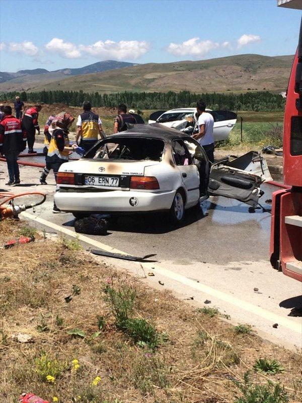 Sivas'ta trafik kazası