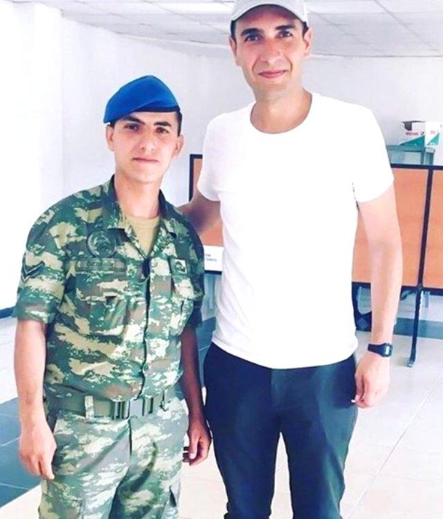Ulaş Tuna Aslantepe'nin askerlik fotoğrafları ortaya çıktı