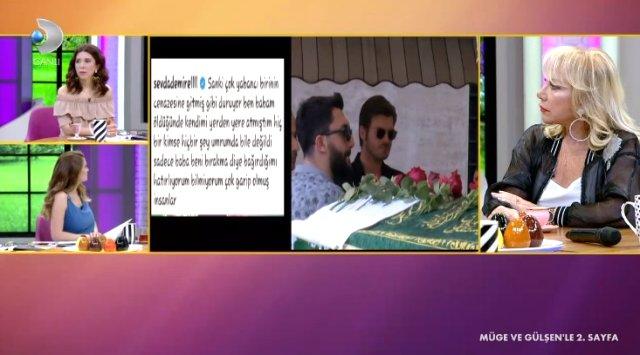 Sevda Demirel'den babasını kaybeden Başak Dizer'e skandal sözler