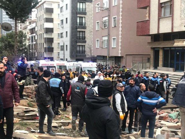 Cumhurbaşkanı Erdoğan Kartal'da çöken bina için ne dedi?