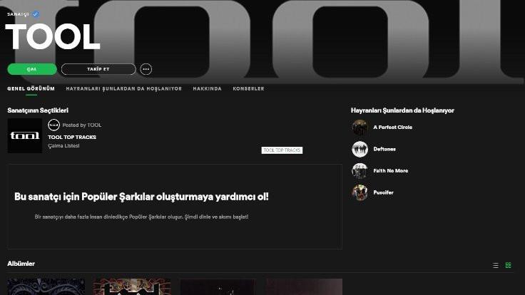 Tool Spotify platformunda yerini aldı | Tool ne demek? Tool müzik grubu