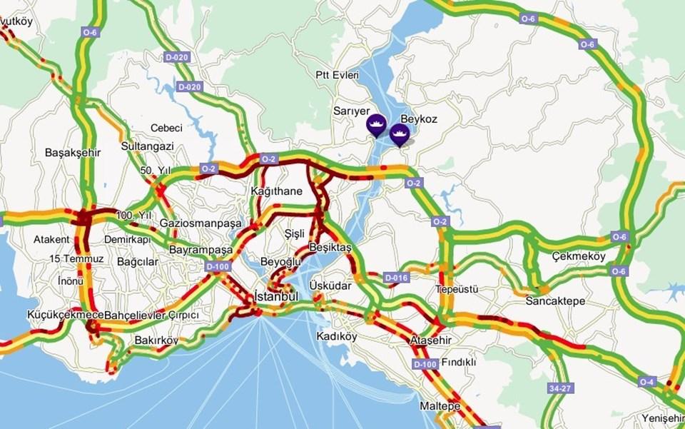 İntihar girişimi sebebiyle FSM trafiği kilitlendi
