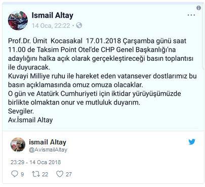 Ümit Kocasakal Kimdir | CHP'den Aday mı Olacak