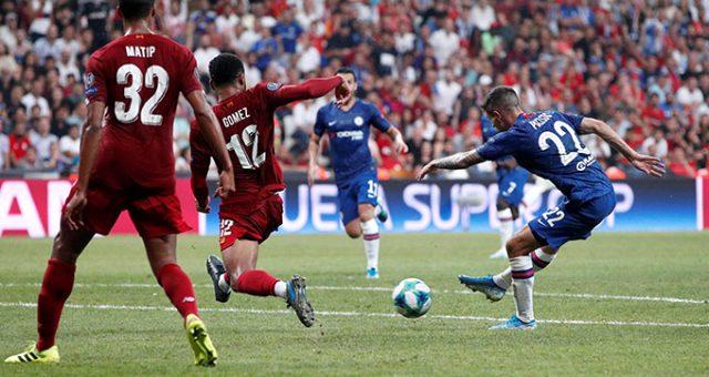 Süper Kupa Liverpool'un oldu! Liverpool 7-6 Chelsea maç özeti