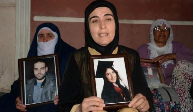 HDP önünde eylem yapan aile sayısı 34 oldu!
