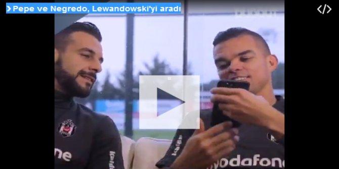 Negredo ve Pepe Lewandoski'yi aradı bakın ne dediler?