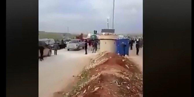Eset'in teröristleri zoru görünce U dönüşü yapıp geri çekilmek zorunda kaldı