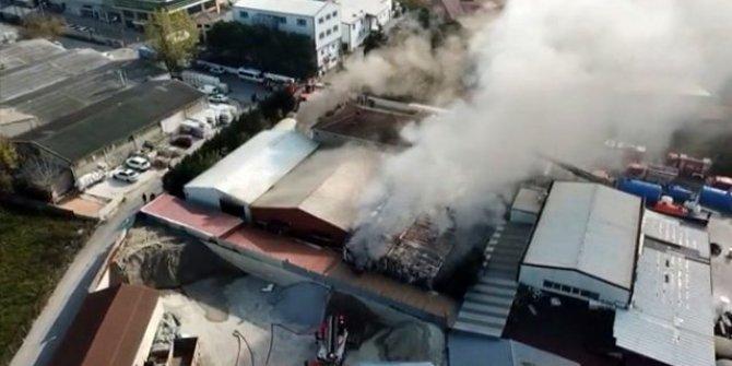 Tuzla'da korkutan yangın! Etraftaki okullar boşaltıldı