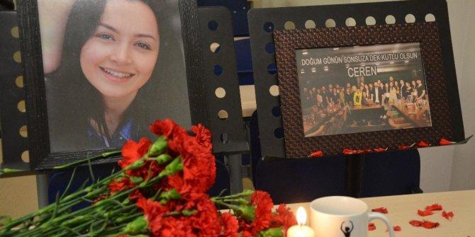 Ceren'in okulundaki anma töreninde arkadaşları gözyaşlarına boğuldu