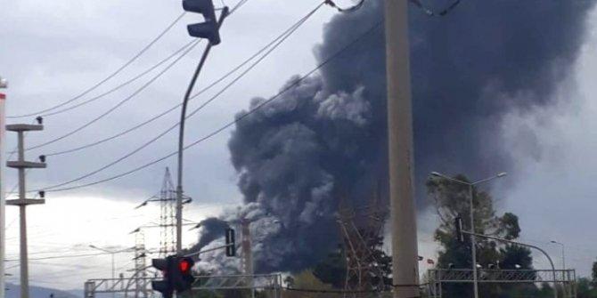 Hatay'da demir çelik fabrikasında patlama!