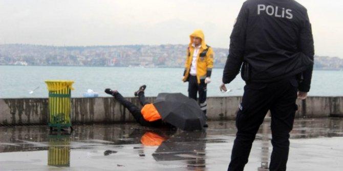 Beşiktaş Sahil'de intihar etti! Son sözü