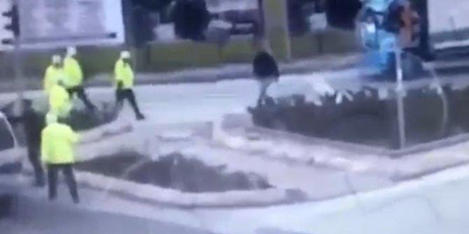 Kayseri'de polisin şoförü darp ettiği iddiası ortalığı karıştırdı!