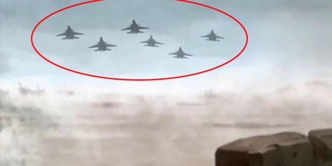 İran'ın Amerikan üslerine saldırmadan önceki yayınladığı video!