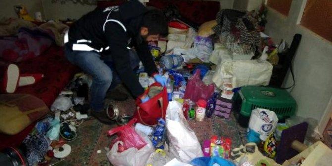 Bursa'daki çöp evden tonlarca uyuşturucu çıktı!