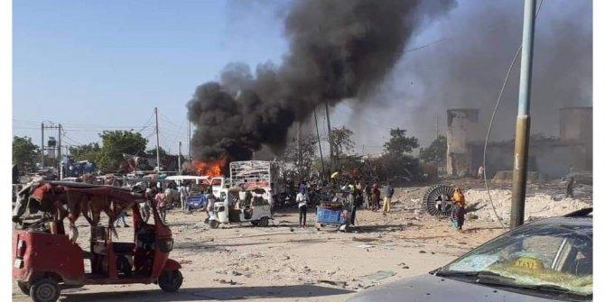 Somali'deki korkunç patlama! 4 ölü, 15 yaralı var