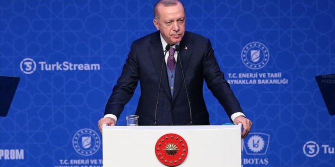 Türk Akım doğal gaz boru hattının açılışı gerçekleşti