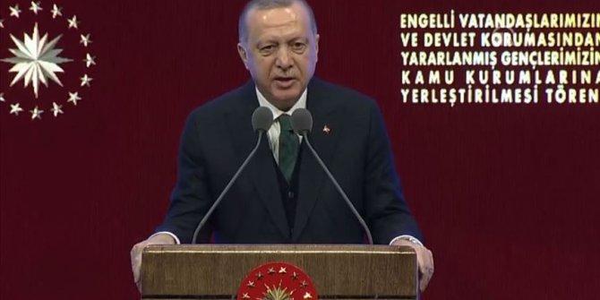 Cumhurbaşkanı Recep Tayyip Erdoğan: ''Güçlü milletler güçlü ailelerden oluşur.''
