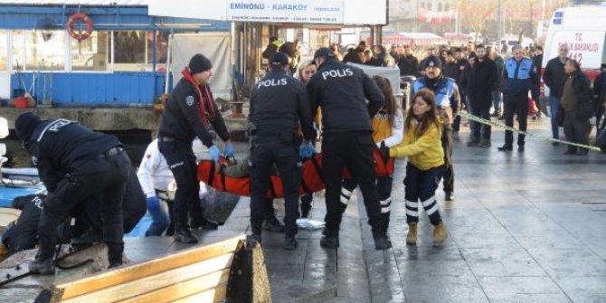 Kadıköy'de denizden erkek ceset çıktı!