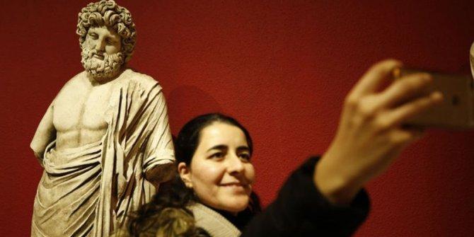 Müzede selfie yarışması vatandaşlar tarafından büyük ilgi gördü