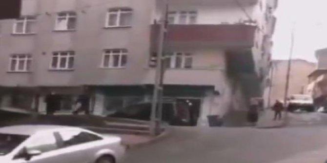 Gaziosmanpaşa'da kadına sopalı şiddet!