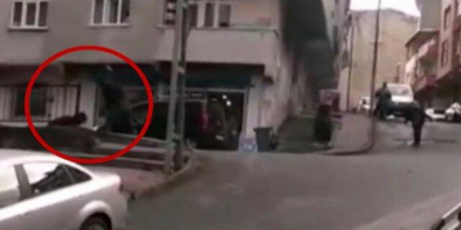 Gaziosmanpaşa'da kadına sopalı şiddet uygulayan adamdan şaşırtıcı sözler!