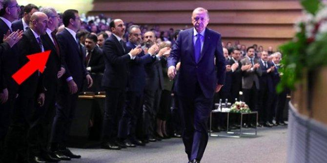 Erdoğan kürsüye yürüdü! Mansur Yavaş ve Tunç Soyer alkışlamadı