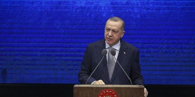 Cumhurbaşkanı Erdoğan: ''Biz 2019 yılını tekrar yükseliş yılı haline dönüştürdük''