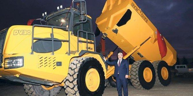Türkiye'nin ilk yerli kaya kamyonu