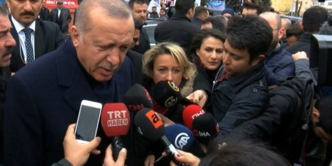 Cumhurbaşkanı Erdoğan: ''Kişiye özel mektupsa açıklamam doğru olmaz''