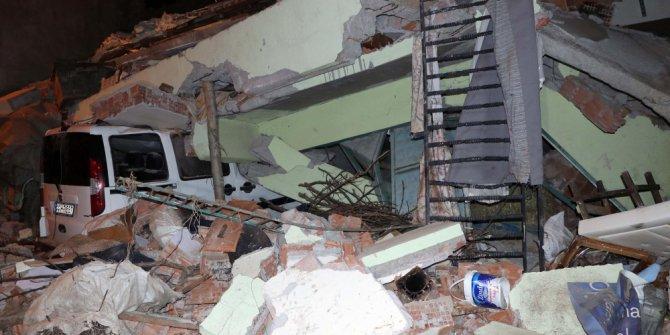 Elazığ depreminin ardından çevre illerde de binalar yıkıldı!