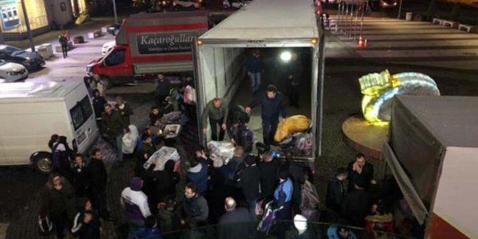 Elazığ ve Malatya için çeşitli illerden destek ekipleri gönderildi