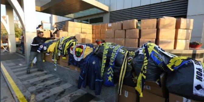 Fenerbahçe Kulübü'nün yardım paketleri depremzedelere ulaştı!