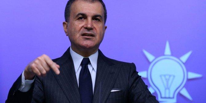 Ömer Çelik'ten İmamoğlu'nun Erzurum ziyareti hakkındaki açıklaması